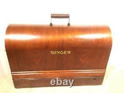 1936 Vintage Singer 201K2 Electric Potted Motor sewing machine