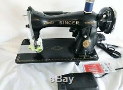 1945 Heavy Duty Industrial Strength Singer 15-90 Sewing Machine Serviced