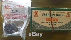 1955 Singer 306K Automatic Swing Needle Sewing Machine withCabinet and accessories