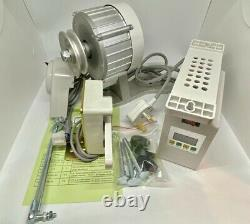 1HP 750W ECO Silent Servomotor Industrial Sewing Machine Variable Speed Control
