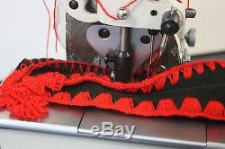 1-Needle Crochet Shell Stitch Blanket Industrial Sewing Machine