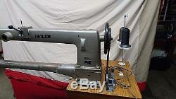 36 long arm Tailor brand industrial sewing machine