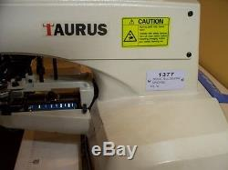 377 BUTTON SEWING MACHINE, ALL NEW INDUSTRIAL, TAURUS, LAST ONE