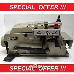 4 x UNION SPECIAL 39500 3-Thread Overlock Industrial Sewing Machine Heads Only