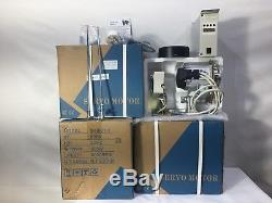 550 Watt Brushless Energy Saving Industrial Sewing Machine Servo Motor 5000rpm