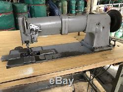 ADLER 220 long arm walking foot industrial heavy duty sewing machine double Need