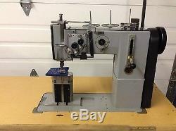 Adler 268 2 Needle Post Walking Foot 3/8 Split Bar Industrial Sewing Machine