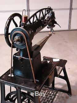 Adler 30-1 Long Arm Industrial Sewing Machine Big German Brother To Singer 29-4