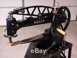 ADLER 30-1 LONG ARM LEATHER PATCHER INDUSTRIAL SEWING MACHINE. Singer 29-4