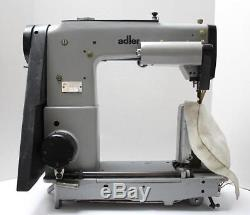 ADLER 568 Post Bed Top- and Bottom Belt Feed Industrial Sewing Machine Head Only
