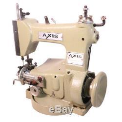 AXIS GJ2-2 Straw Braid Sewing Machine Making Straw Hats Baskets Chainstitch Head