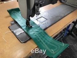 Adler 220 Long Arm sewing machine walking foot heavy duty double needle