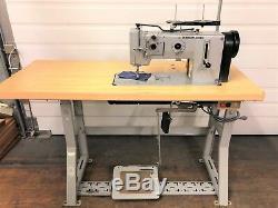 Adler 267-373 German Made Walking Foot Reverse 110v Industrial Sewing Machine