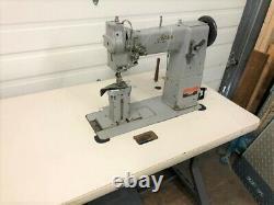Adler 5/16 2n Postbed Needle Feed Big Bobbin110v Servo Industrial Sewing Machine