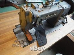 Adler 67-GK-31 Walking Foot Sewing Machine w Reverse Industrial Used