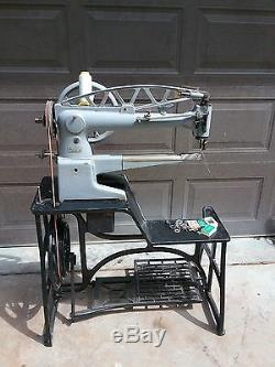 Adler Long Arm Industrial Leather Sewing Machine