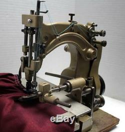 Antique UNION SPECIAL Chainstitch Ruffler Industrial Sewing Machine Head Only