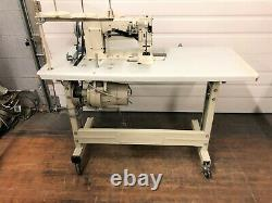 Artisan 4420-rb Two Needle Walking Foot 1 & 1/2 110v Industrial Sewing Machine