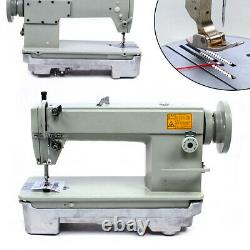 Automatic Leather Sewing Machine Industrial Lockstitch Leather Fabrics Sewing
