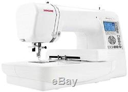Automatic Sewing Machine Memory Embroidery Craft LCD Heavy Duty Industrial Sew