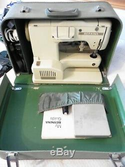 BERNINA 730 RECORD SEWING MACHINE with accessories