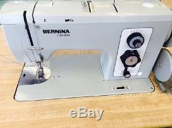 BERNINA 850 Industrial Sewing Machine on Table & 110V Motor-Made in Switzerland