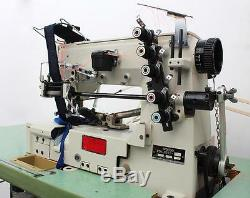 BROTHER FD4-B272 Coverstitch Elastic Tape Attaching Industrial Sewing Machine