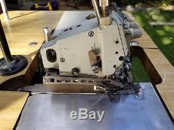 BROTHER MA4-V61 2-Needle 5-Thread Overlock Serger Industrial Sewing Machine 220V