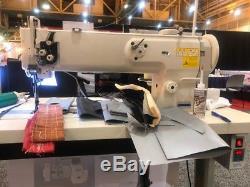 Big and Tall1508N-18 Long Arm 18Inch Walking Foot Sewing Machine Juki LU-1508N
