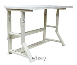 Blank Sewing Machine Table, Ind, Strength Adjustable Height Fits ANY Sewing mach