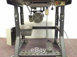Brother LK3-B430-4 Bar Tack Tacker Industrial Sewing Machine with Singer Stand