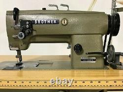 Brother Lt2-b832-3 Industrial Sewing Machine (twin Needle)