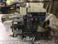 Brother Ma4-b661 3/5 Thread Overlock Industrial Sewing Machine Used