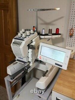 Brother PR600II Six-Needle Embroidery Machine