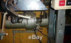 CONSEW 225 WALKING FOOT leather upholstery INDUSTRIAL SEWING MACHINE vintage