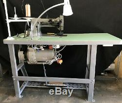 CONSEW 226R-2 Industrial Sewing Machine WALKING FOOT with REVERSE 110V MOTOR