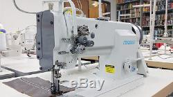 CONSEW P2339 Double Needle Walking Foot Sewing Machine for Auto Upholstery NEW