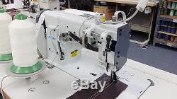 CONSEW P2339 Double Needle Walking Foot Sewing Machine for Leather, Vinyl NEW