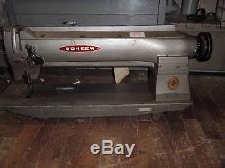CONSEW SEIKO (LONG ARM, WALKING FOOT) Heavy duty sewing machine TAG2414
