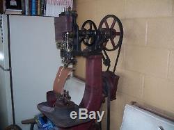 Champion 77 McKay stitcher chain stitch shoe repair sewing machine