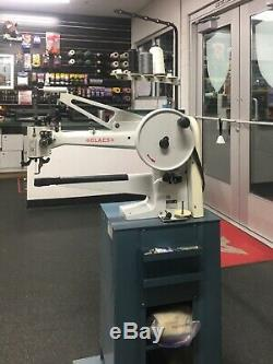 Claes industrial sewing machine. Claes Long Arm Patches, Shoe Repair, equipment