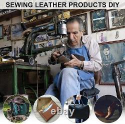 Cobbler Sew Stitch Machine Shoe Patcher for Manual Sew Dual Cotton Nylon Line