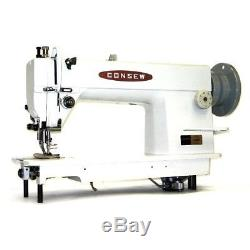 Consew 205RB-1 Industrial Walking Foot Sewing Machine Head Only