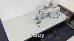 Consew 205RB-1 Industrial Walking Foot Sewing Machine for Leather with Servo