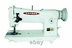 Consew 206RB-5 Triple Feed, Upholstery Walking Foot Sewing Machine Head Only