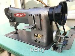 Consew 206RB Industrial Walking Foot Sewing Machine, Leather, Canvas, Car, Boat