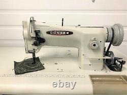 Consew 206rb-5 Walking Foot Large Bobbin 110v Servo Industrial Sewing Machine