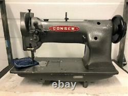 Consew 225 Triple Feed Walking Foot Head Only Industrial Sewing Machine
