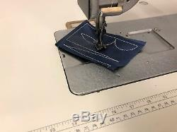 Consew 226 Walking Foot Reverse 110 Volt Industrial Sewing Machine