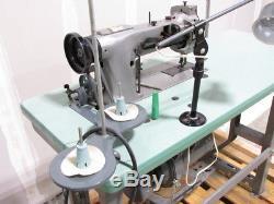 Consew 226 Walking Foot Vert Bobbin + Reverse Industrial Sewing Machine